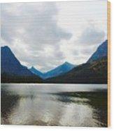 Cobalt Lake Wood Print