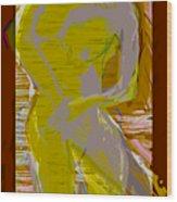 Cobalt Wood Print