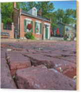 Cobble Stone Wood Print