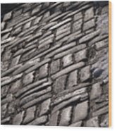 Cobble Stone Walk Wood Print