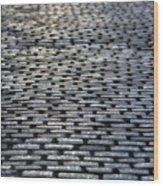 Cobblestone Journey Wood Print