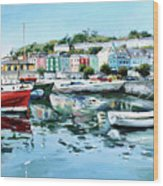 Cobh Harbour County Cork Wood Print