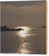 Cobo Sunlight Reflections Wood Print