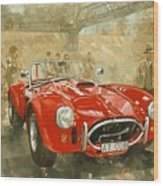 Cobra At Brooklands Wood Print