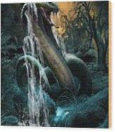 Cobra Falls Wood Print