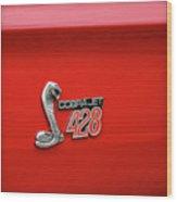 Cobra Jet 428 Wood Print