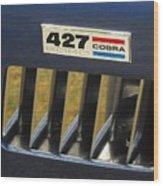 Cobra Medallion Wood Print