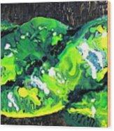 Cobra Verde Wood Print