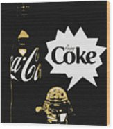 Coca-cola Forever Young 7 Wood Print