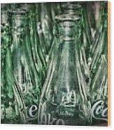 Coca Cola So Many Bottles Wood Print