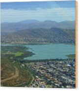 Cochabamba Lake Wood Print