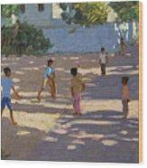 Cochin Wood Print