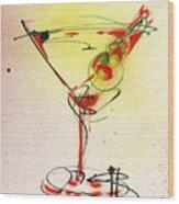Cocktail #6 Wood Print