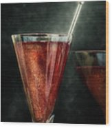 Cocktail Time Wood Print