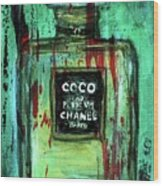 Coco Potion Wood Print