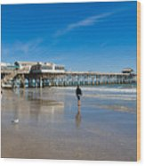 Cocoa Beach Florida Wood Print