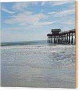 Cocoa Beach Florida Wood Print