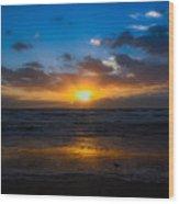Cocoa Beach Sunrise 5 Wood Print