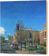 Coconino County Courthouse Wood Print