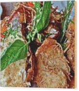Coconut Shrimp Wood Print