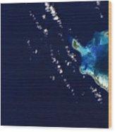 Cocos Islands Wood Print by Adam Romanowicz