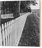 Codori Fence Wood Print