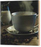 Coffee And Cream Wood Print