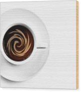 Coffee And Cream Wood Print by Gert Lavsen