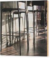 Coffee Bar - 200300 Wood Print