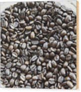 Coffee Beans from Brazil  Wood Print