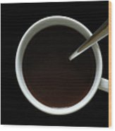 Coffee Cup Wood Print
