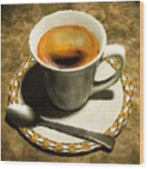 Coffee - Id 16217-152032-0430 Wood Print