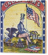 Coffee Label, C1863 Wood Print by Granger