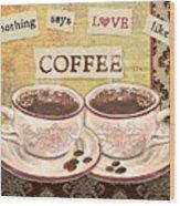 Coffee Love-jp3592 Wood Print