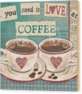 Coffee Love-jp3593 Wood Print