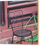 Jonesborough Tennessee - Coffee Shop Wood Print