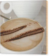 Coffee Time 3 Wood Print