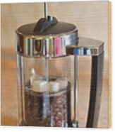 Coffee With Sugar Wood Print