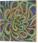 Cognitive Bloom Invert Wood Print