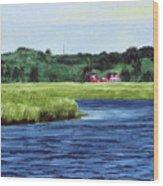 Cohansey River Wood Print