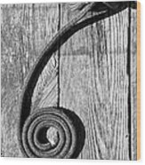 Coiled Wood Print