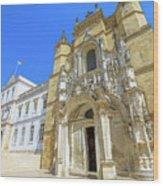 Coimbra Historic City Wood Print