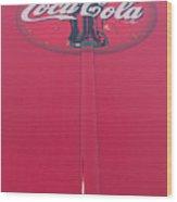 Coke Lollipop Wood Print