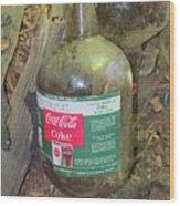 Coke Syrup Wood Print