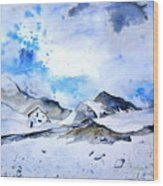 Col Du Pourtalet In The Pyrenees 01 Wood Print