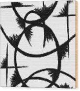 Colapse II Wood Print