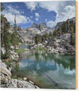 Colby Lake Outlet - Sierra Wood Print