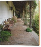 Colchagua Valley Porch Wood Print
