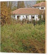 Colchagua Valley Villa  Wood Print