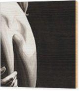 Cold #1 Wood Print